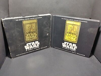 Star Wars Trilogy A New Hope Special Edition Soundtrack 2-Disc CD/Book B287