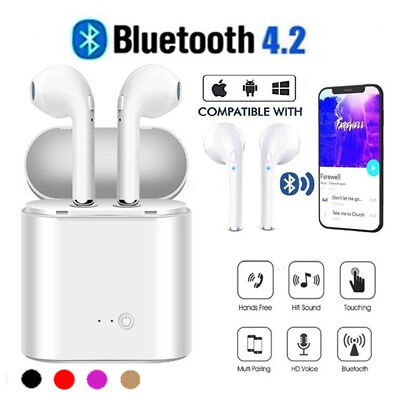 I7s TWS True Earbuds Wireless Bluetooth4.2 Stereo Headset In-Ear Earphone
