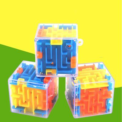 6 Sides Three-dimensional Magic Maze 3D Baby Intelligence Toy Educational Toys J