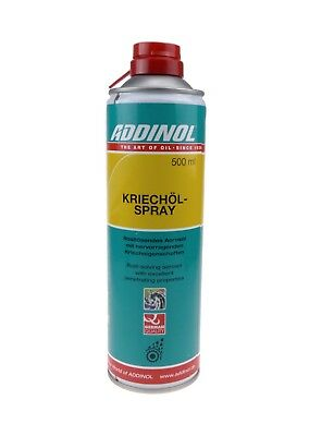 14,38€/1l ADDINOL Kriechölspray Kriechöl Creep Oil Spray 500 ml