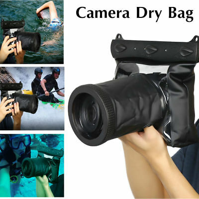 DSLR SLR Camera Waterproof Underwater Housing Case Pouch Dry Bag For Nikon Canon