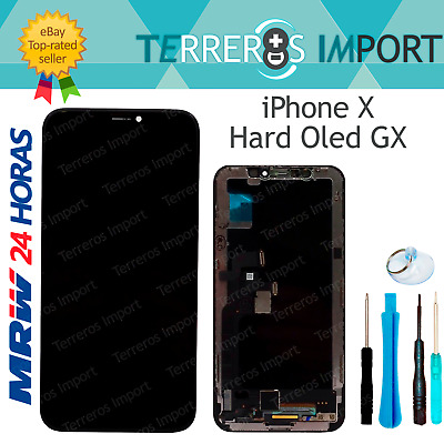 Pantalla Completa LCD Display AMOLED OLED para iPhone X Frontal Completo Negro