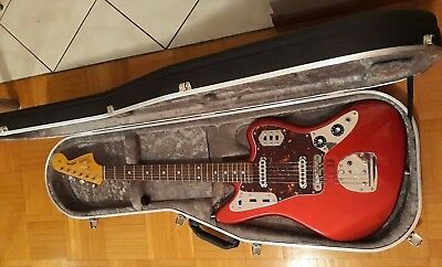 Fender '62 Jaguar (CIJ, Mastery Bridge, USA tremolo, Creamery PUPs, Hiscox case)