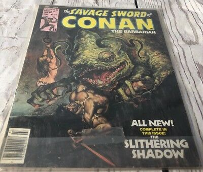 the savage sword of conan No. 20