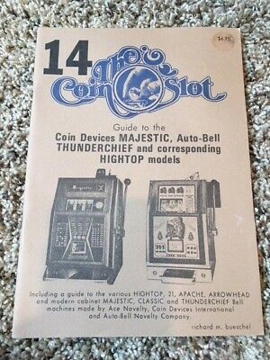Coin Slot Guide #14 for the Majestic, Auto-Bell, Mills Various Hightops