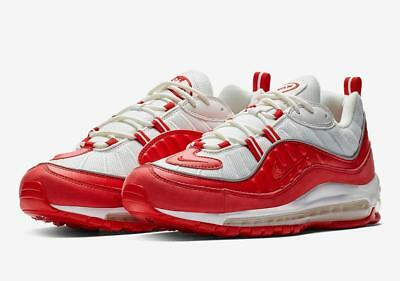 classic fit 0ea03 5d695 (640744-602  Men s Nike Air Max 98 University Red  NEW