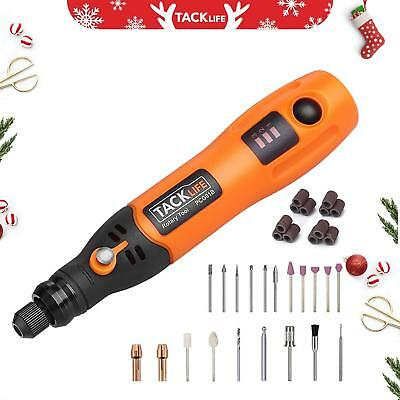 Cordless Rotary Tool, Tacklife PCG01B 3.7V Li-On Tool Kit With 31 For