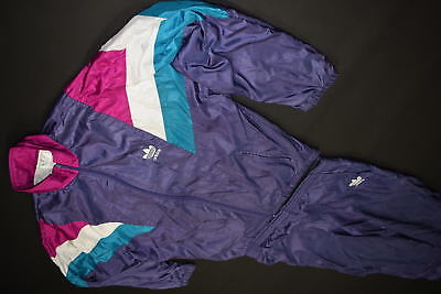 ADIDAS TRAININGS ANZUG Jogging Track Jump Shell Suit Vintage 90s 90er Nylon 5 S