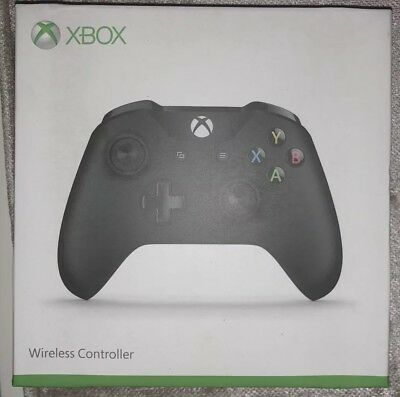 Microsoft Official Xbox One Wireless Controller Black Brand New Sealed