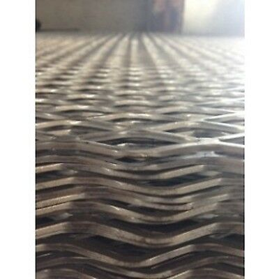 """Expanded Steel 1 1/2"""" #6 Flat - 24"""" x 48"""""""