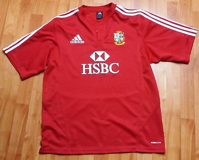 Adidas British and Irish Lions rugby jersey 2009 South African tour