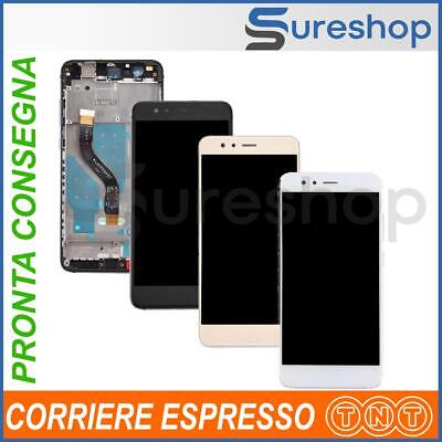 Display LCD Touch Screen + Frame Huawei P10 Lite WAS-LX1 WAS-LX1A Schermo Vetro
