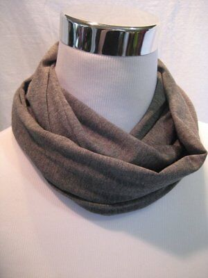 Baby TODDLER childs kids solid GRAY GREY jersey knit Infinity Scarf PHOTO PROP