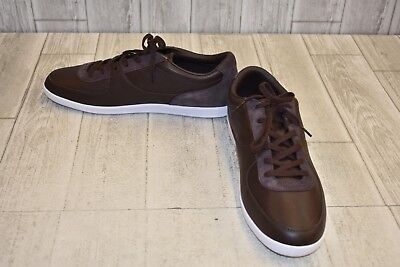 b67a950440b93 Lacoste LS 12 Minimal 25 Cam Casual Shoes - Men s Size 13 - Dark Brown