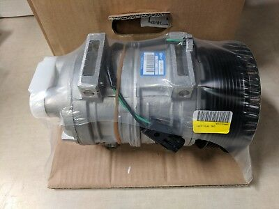 QUE QP21-1853 Heavy Duty Compressor 127mm Pulley 24V Direct Mount