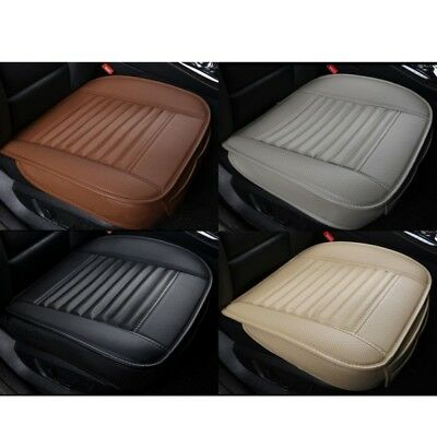 Auto Car PU Leather Full Surround Seat Black Protect Mat Cover Cushion Pad Cover