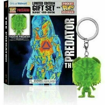 The Predator - Limited Edition Gift Set + Keychain [Blu-ray+DVD] New!!