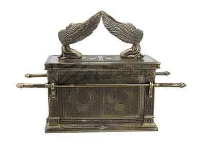 """Ark Of The Covenant Statue Sculpture Figurine 11"""" - GIFT BOXED"""