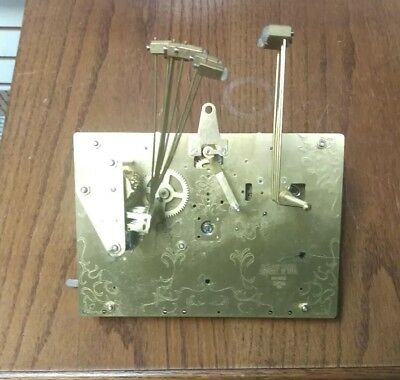 Hermle Triple Chime Cable Driven Clock Movement  #1161-853BS  114cm As Is PARTS