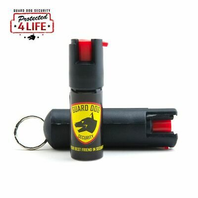 Guard Dog Pepper Spray 1/2 Oz Black