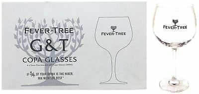 Fever Tree  Copa Dartington Balloon Gin Glass New X 6 Cheapest On eBay