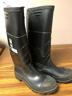 OnGuard PVC Boots Steel Toe & Midsole   Size 7  86622