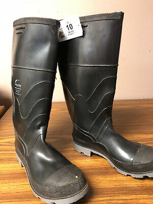 OnGuard PVC Boots Steel Toe Polyblend   Size 10  86102