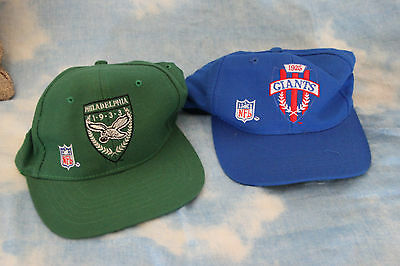 Lotto 2 Cappellino Baseball Vintage anni 90 New york Giants - Philadelphia  1933 832ed82ecd57