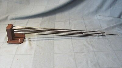Vintage Grandfather Clock Strike Bar & Chime Rods B122/59 Rod Longest 26""