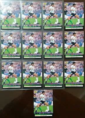 World Cup Usa 94. Vintage Upper Deck Lot Of 113 Limited Edition Bora Milutinovic