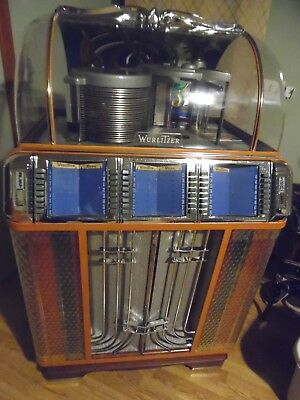 SALE PENDING ! Wurlitzer Jukebox 850 All Original Plastics, Original