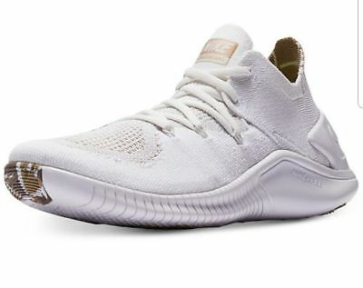 f342afe71a7a7 NIKE FREE TR Flyknit 3 AMP Women's Running Training Shoes White AA1212 100