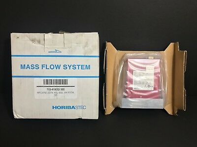 New! Horiba Stec Digital Mass Flow Module D219-Sct Flow Rate: 300 Sccm