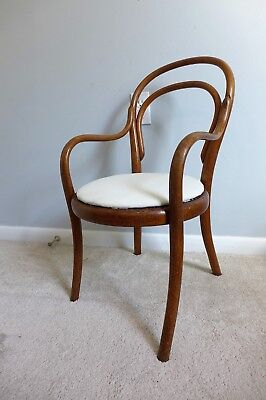 Antique Thonet Child's Armchair No 01 Model Bentwood Vintage Arm Chair Doll Kids