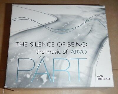 The Silence of Being: The Music of Arvo PART- CD boxed set 2008, 6 Discs, Naxos