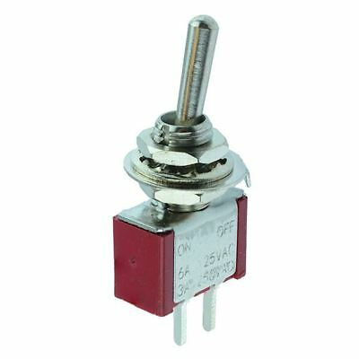 On-Off Miniature PCB Toggle Switch SPST