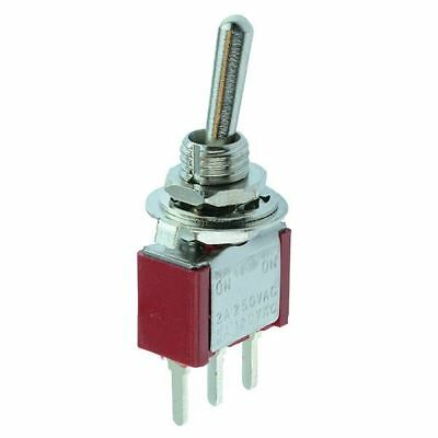 On-On Miniature PCB Toggle Switch SPDT