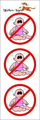 3 - No Cry Babies Pink Union Oilfield Helmet/Hard Hat/Motorcycle Sticker 2""