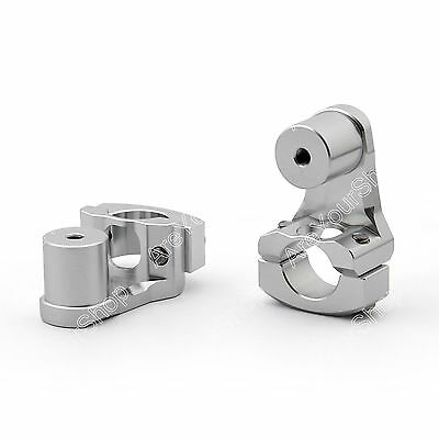 New 28MM Bar Clamp Riser Taper Handlebar For KTM 950/990 ADV Silver K