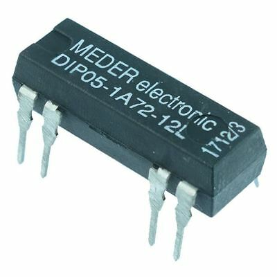 5VDC Normally Open Reed Relay SPST DIP05-1A72-12L