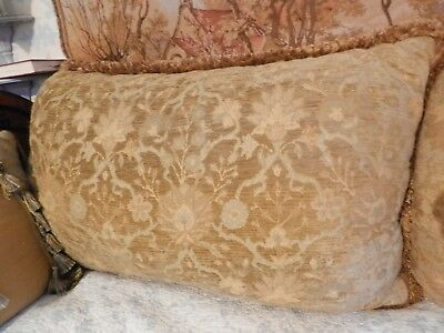 Very Large Gigantic Vintage Boudoir Harem Reading Cushion, 104 cm x 66 cm