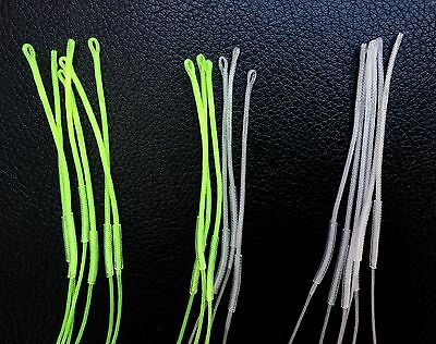 Qty 6 Braided Loop Connectors- Fly Fishing. Leader Loops. Leader to Line.