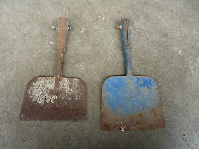 garden edger heads vintage tools scraper old farm tools primitive decor rusty