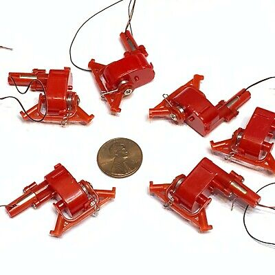 6 pieces DC 3-3.7V Micro Speed Reduction Worm Gear Motor Mini Coreless Motor A15