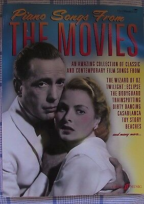Piano Songs From The Movies Film Pop Rock Piano Voice Guitar FABER Music BOOK