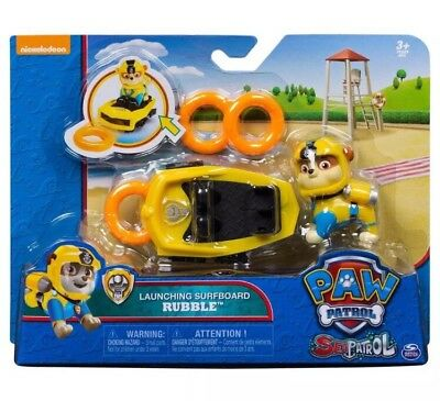 Paw Patrol Sea Patrol Launching Surfboard Rubble