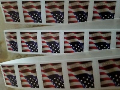 Usps Forever Stamps 2017 Us Flag Roll/coil 200 First Class  Free Shipping