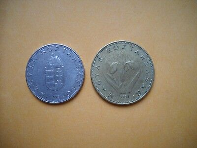 World coins Hungary 10 20 forint