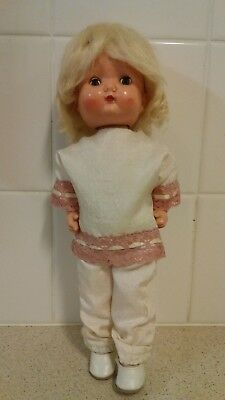 "Roddy Walker Doll which turns Head as it Walks - 12"" high -Post free to Aust"