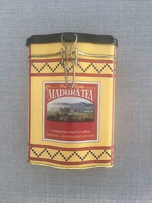 Madura Empty Collectable Tea Tin